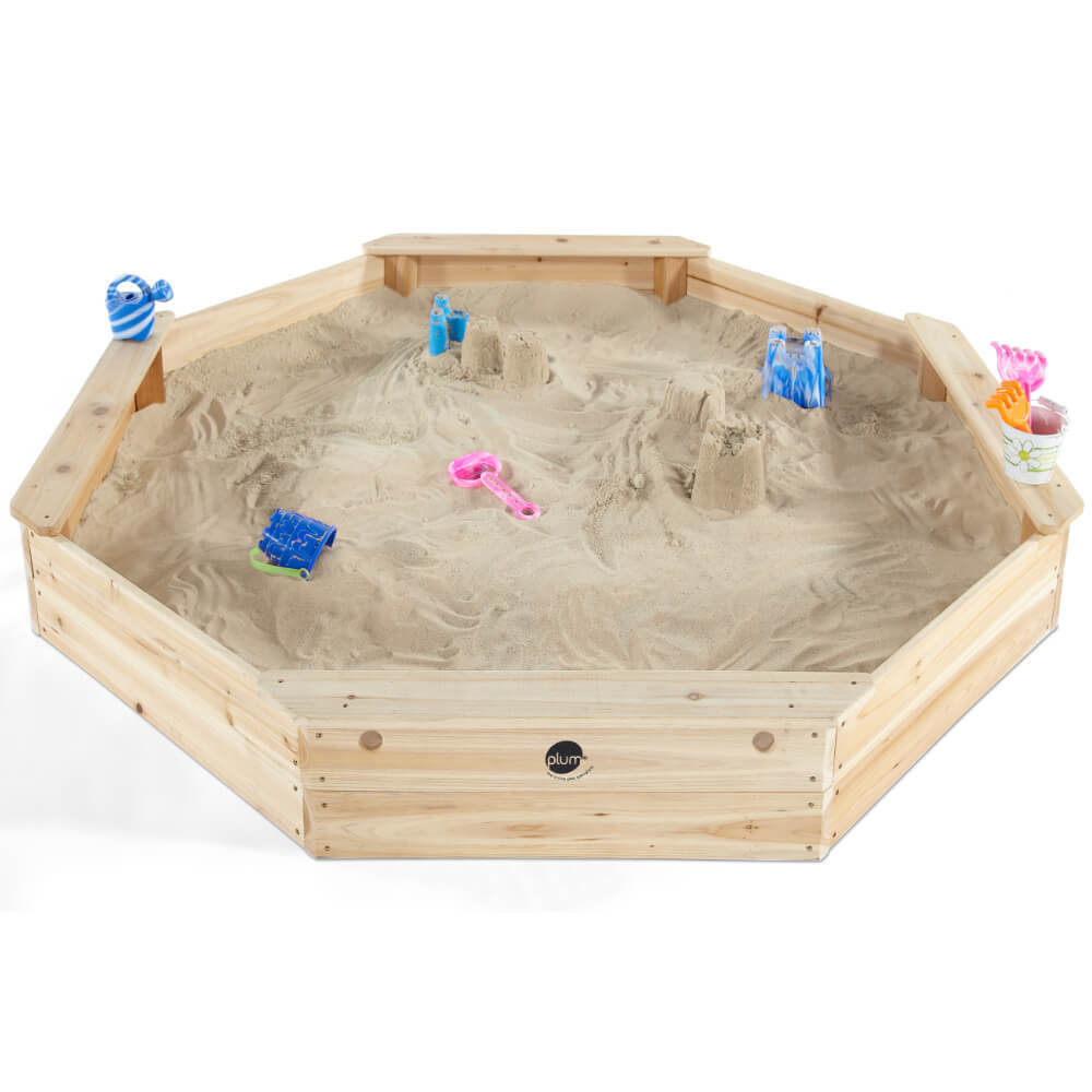 Plum Giant Wooden Sandpit