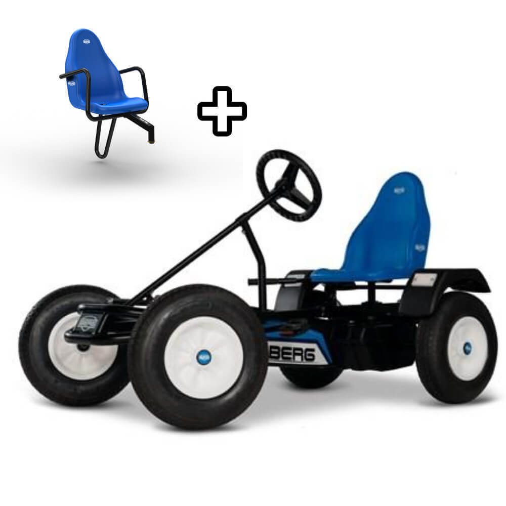 BERG Classic Extra BFR Go-Kart With FREE Passenger Seat