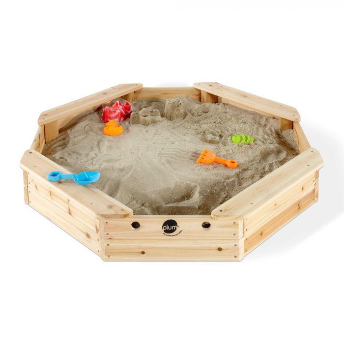 Plum Treasure Beach Wooden Sand Pit