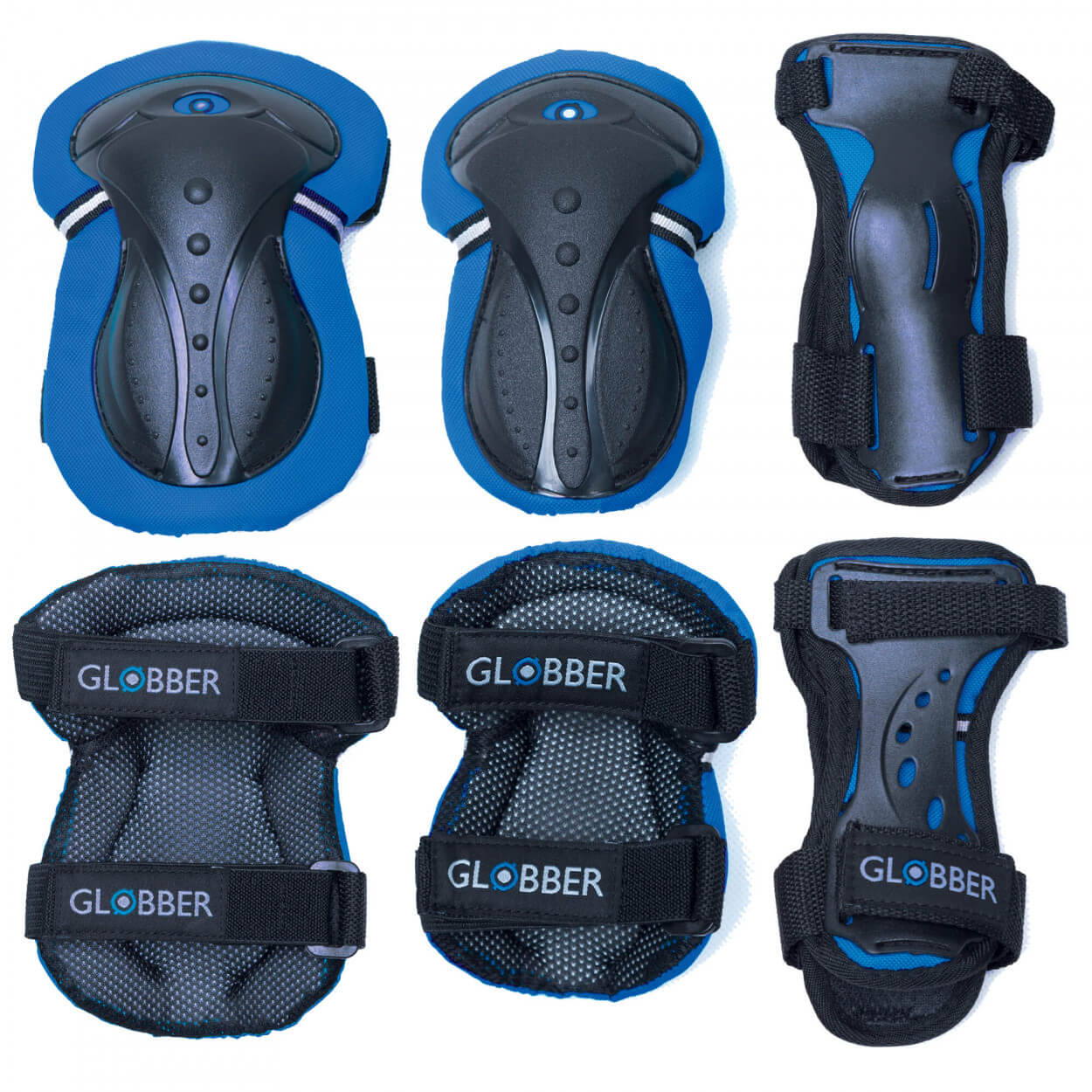 Plum Globber Junior Protective Gear - Blue & Black