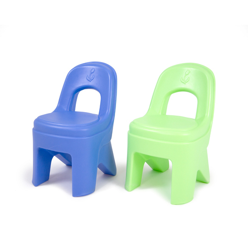 Simplay3 Play Around Chairs - Blue/Green (2-Pack)
