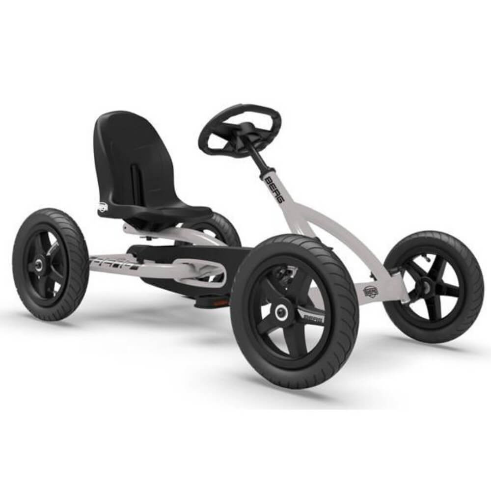 BERG Buddy Grey Pedal Go-Kart