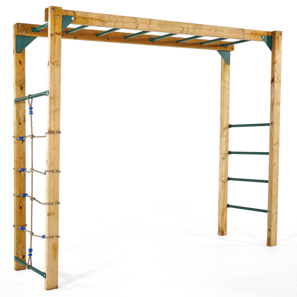 Plum Monkey Bars for Lookout Tower