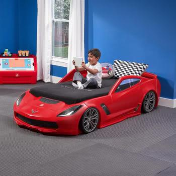 Step2 Corvette Z06 Bed with Lights