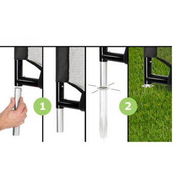 EXIT Toys Finta Football Goal (including Trainer)