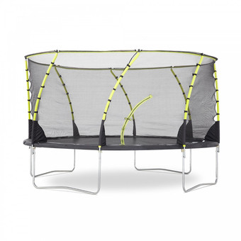 Plum Whirlwind Trampoline and Enclosure