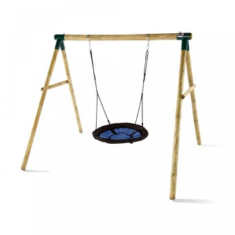 Plum Spider Monkey II Swing Set
