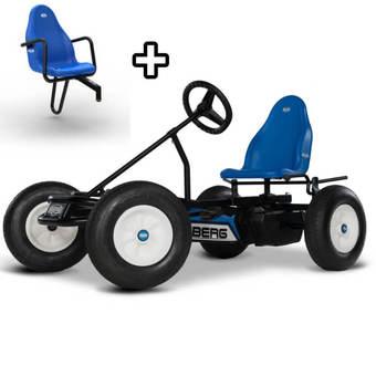 BERG Classic Basic Blue BFR Go-Kart + FREE Passenger Seat
