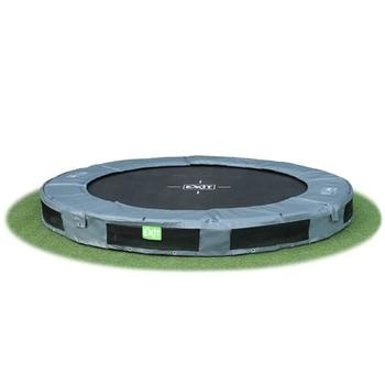 EXIT Toys InTerra Round Trampoline Grey - 10ft