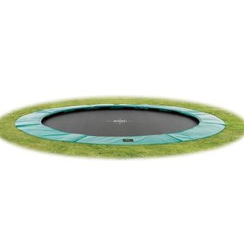 EXIT Toys Supreme Ground Level Trampoline - 10ft