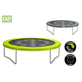 EXIT Toys Twist Trampoline (Green/Grey)