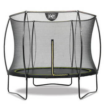 EXIT Toys Black Edition Trampoline with Safety Net - 10ft