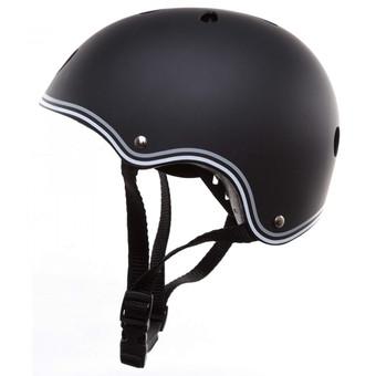 Plum Globber Junior Helmet - Black