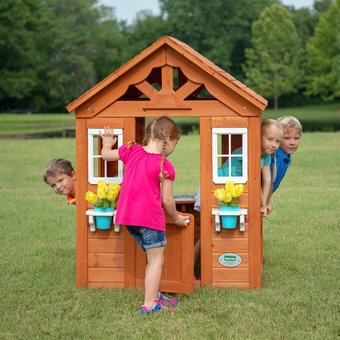 Backyard Discovery Timberlake Playhouse