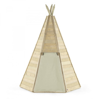 Plum Great Wooden Teepee Hideaway