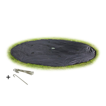 EXIT Toys Supreme Ground Level Weather Cover - Round - 14ft