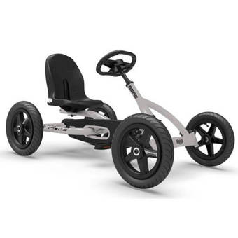 BERG Buddy Grey Pedal Go-Kart - Limited Edition