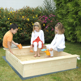 Soulet Wooden Sandbox