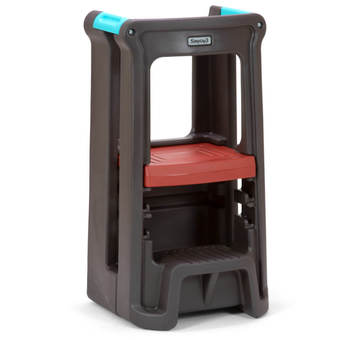 Simplay3 Toddler Tower Adjustable Stool - Espresso