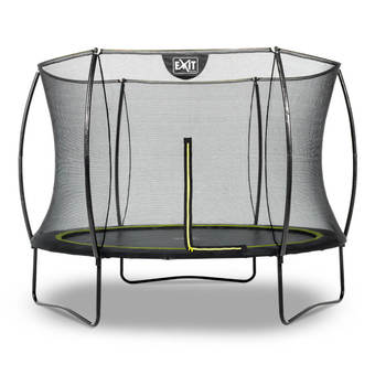 EXIT Toys Silhouette Black Edition Trampoline with Safety Net - 8ft