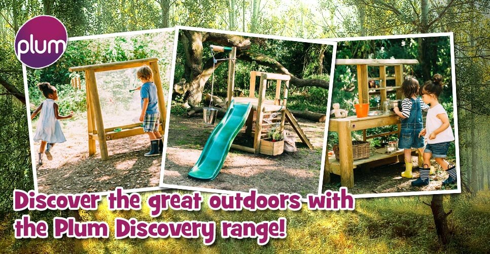 Discover the great outdoors with Plum Discovery!