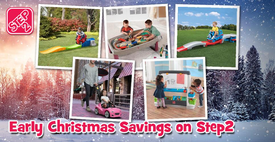 Christmas Savings with Step2