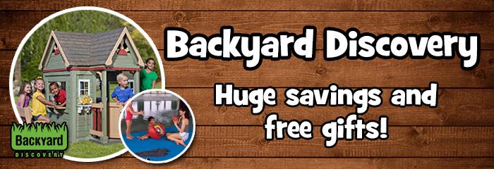 Backyard Discovery Playhouses