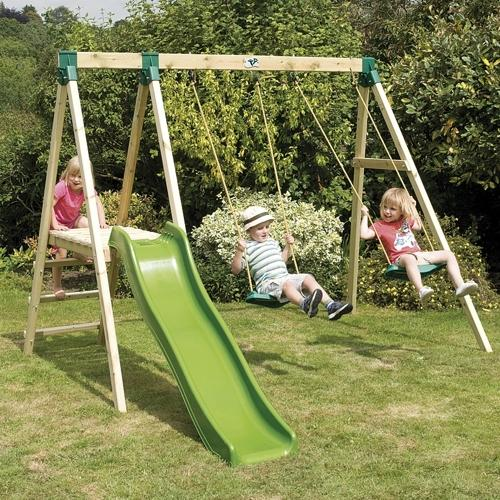 TP Forest Double Multiplay with FREE Fold-Away Swing Seat
