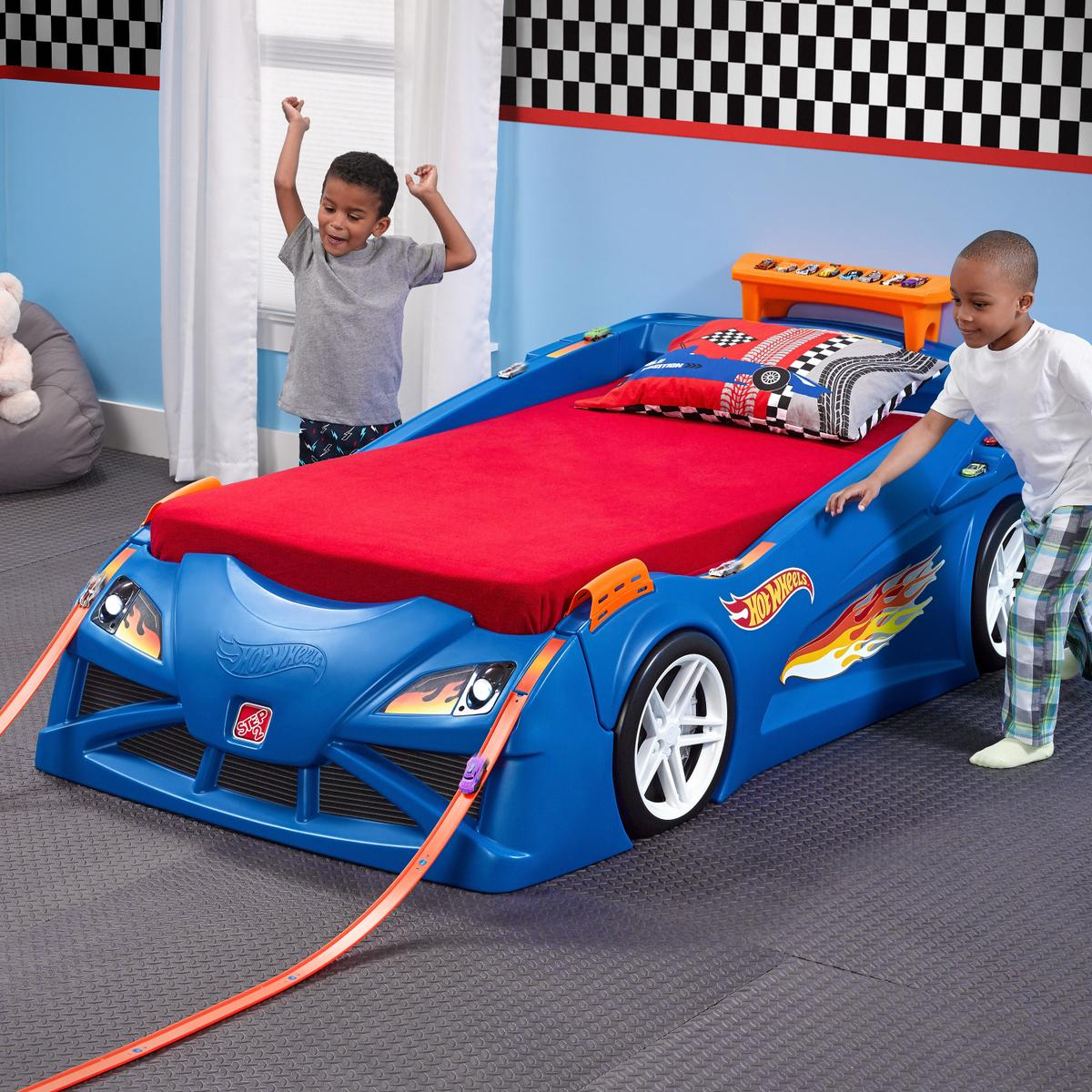 Step2 Hot Wheels Race Car Bed UK