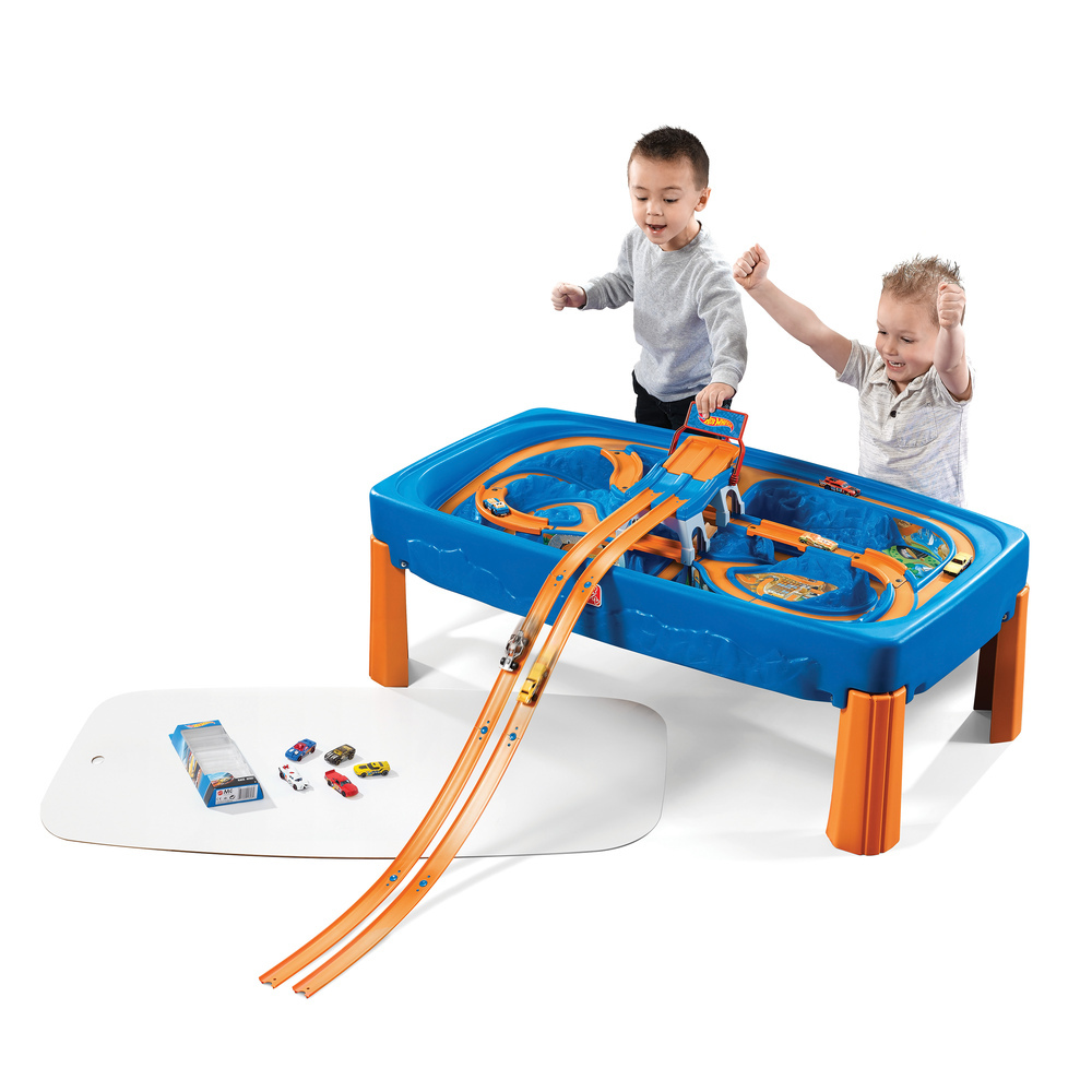 Step2 Hot Wheels Car Track Amp Play Table Uk Step2 869600