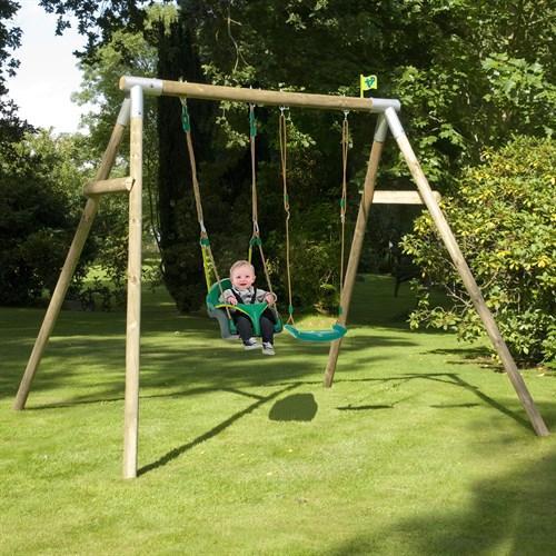 TP Knightswood Double Swing Set 4