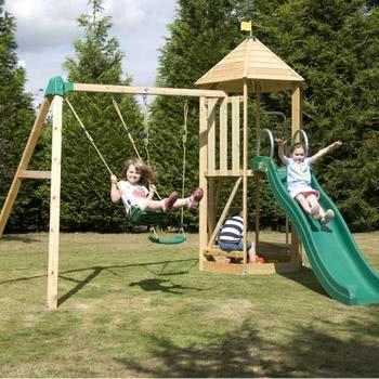 TP Castlewood with Double Swing Arm & CrazyWavy Slide