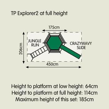 TP Explorer2 Climbing Frame Set
