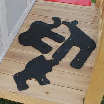 EXIT Toys Safari Chalkboard Kit