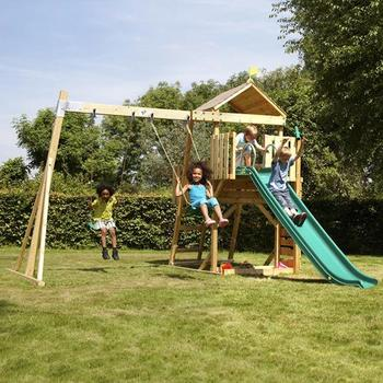 TP Kingswood 2 Tower with Rapide Slide & Deluxe Swing Seats