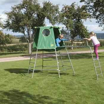 TP Explorer2 Climbing Frame with Jungle Run and Den