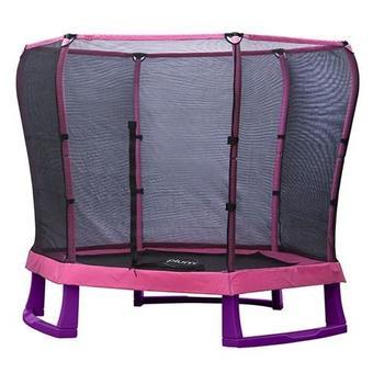 Plum 7ft Junior Trampoline - Pink and Purple