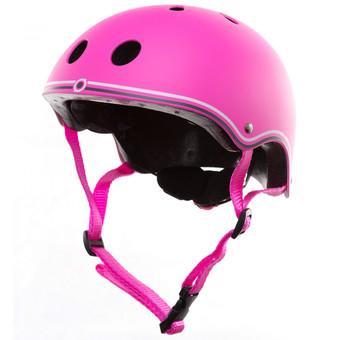 Plum Globber Junior Helmet - Pink