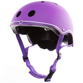 Plum Globber Junior Helmet - Purple