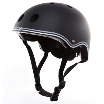 Plum Globber Junior Helmet - Black