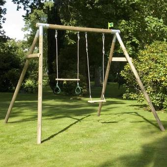 TP Knightswood Double Swing Set 1