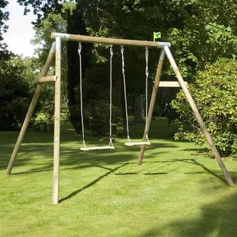 TP Knightswood Double Swing Set 3