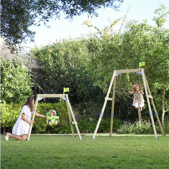 TP Acorn Growable Small-to-Tall Swing with Two Seats