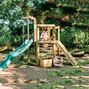 Plum Discovery Woodland Treehouse