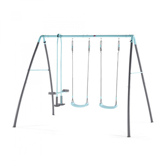 Plum Premium Metal Double Swing with Glider and Mist
