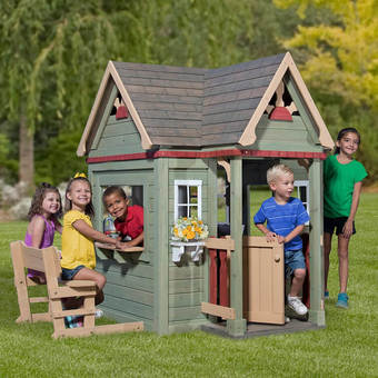 Backyard Discovery Victorian Inn Playhouse with FREE Chalkboard Kit!