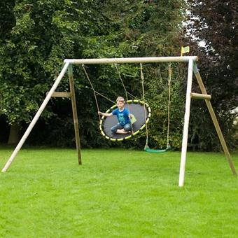 TP Knightswood Triple Swing Set 2