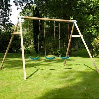 TP Knightswood Triple Swing Set 3