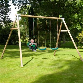 TP Knightswood Triple Swing Set 5