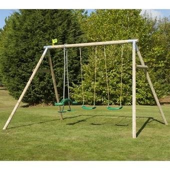 TP Knightswood Triple Swing Set 8